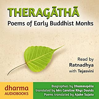 Theragatha audiobook cover art