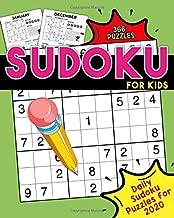 Sudoku for Kids: Daily Sudoku Puzzles for 2020: Daily Sudoku Puzzle Book for Kids - Sudoku Daily Calendar 2020 - 300+ Sudoku Puzzles Random Difficulty
