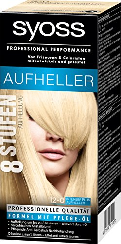 Syoss Coloration, 12-0 Intensiv Plus Aufheller, 3er Pack (3 x 135 ml)
