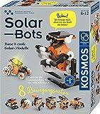 KOSMOS Solar Bots, Baue 8 Solar-Modelle, Bausatz für Roboter mit Solarenergie-Antrieb, Solarzelle mit Motor, Experimentierkasten für Kinder ab 8 - 12 Jahre, Technik-Spielzeug mit erneuerbarer Energie