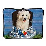 5 tamaños Golden Retriever Cachorro Portatil Bolsa Personalizada Resistente a los arañazos – Animales Mascotas Protección Portátil Adecuado para viajeros