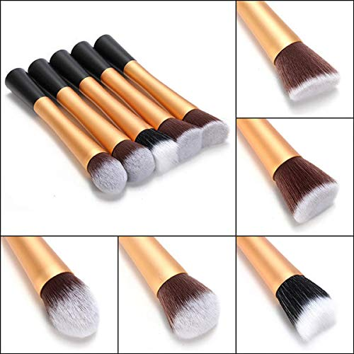 Professional Fiber Stipple Powder Foundation Blush Brush - #02