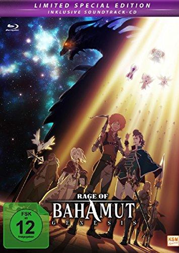 Rage of Bahamut: Genesis Limited Edition (Folge 01-Folge 12 und Special #6.5) incl. Soundtrack (15 Songs) & nummerierter J-Card im (3 Disc Mediabook ... Booklet) (Blu-ray)
