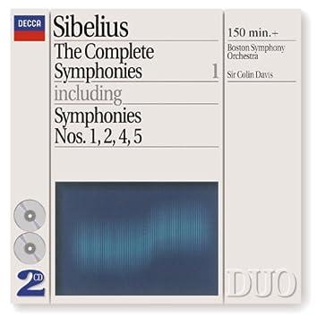 Sibelius: The Complete Symphonies, Vol.1