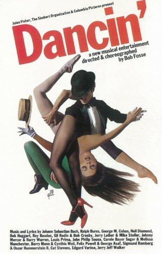 Pop Culture Graphics Dancin Poster Broadway Theater Play 11x17