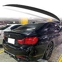 純正色塗装済 ABS製 トランクスポイラー BMW用 F32 クーペモデル用 外装 エアロ パーツ リアスポイラー 両面テープ取付 カラーコード:668 ブラックII