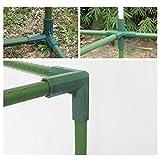 wendaby Sprinklerpumpen Garten Sprinkler 16MM PVC Fitting 5 Typen Stabile Stütze Heavy Duty Gewächshaus Rahmenbauverbinder Garten Sprinkler Rasensprenger