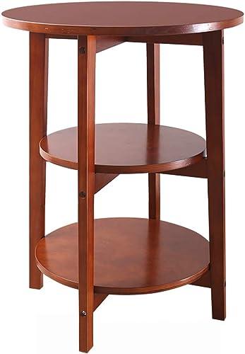 ZZHF changtoukui Table D'appoint, Multi-couche En Bois Massif Table D'appoint Mini Salon Canapé Table D'appoint Chambre Table De Chevet Pratique Balcon Loisirs Table Basse