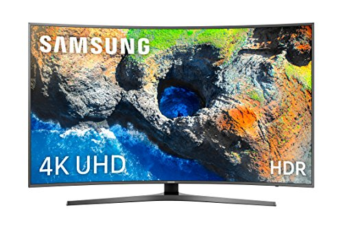 "Samsung TV 49MU6655 - Smart TV DE 49"" (UHD 4K, HDR, Pantalla Curva, Quad-Core, Active Crystal Color, 3 HDMI, 2 USB), Color Gris"