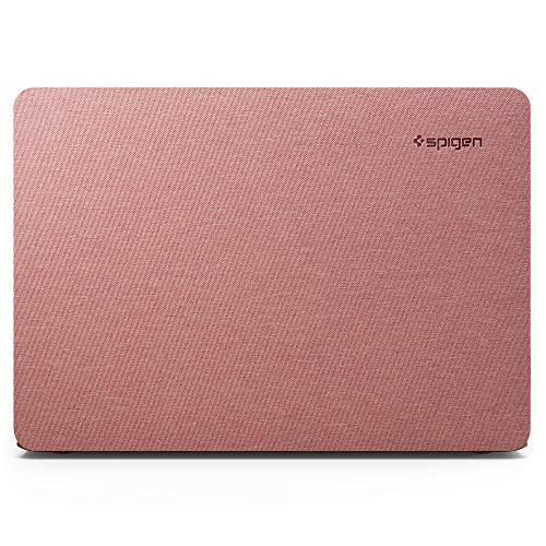 Spigen Thin Fit Kompatibel mit MacBook Air A2337 M1, A2179, A1932 Retina 13 Zoll (2020/2019/2018) Hulle - Rose Gold