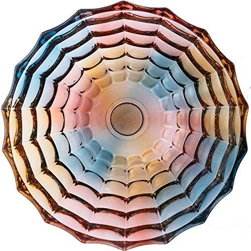 JF-XUAN Placas sopa de ostras placas snack Placa Dip platos de sopa cuencos Vajilla Fruit Snack-colorida sala de estar moderna mesa de centro del cuenco de fruta fruta del estilo europeo decoración de
