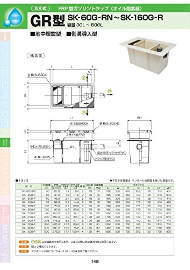 胴体土器乗算GR型 SK-130G-R 耐荷重蓋仕様セット(マンホール枠:ステンレス / 蓋:溶融亜鉛メッキ) T-2