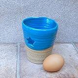 Egg separator jug wheel thrown stoneware ceramic pottery handmade hand thrown ready to ship