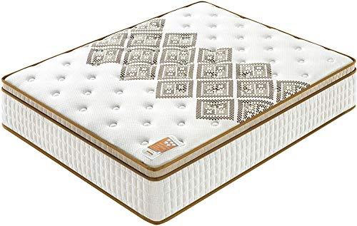 sensoreve - Matratze Tonic Errakis 140x200cm - Doppelte Technologie: Taschenfedern + High Density Foam - 28cm Gesamtdicke - Unabhangigkeit von der Bettwasche - Tonic und extrem haltbare Unterstutzung