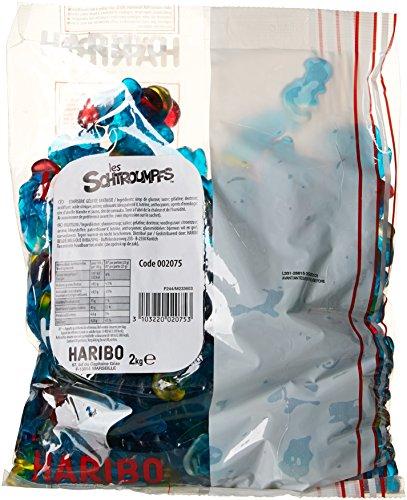 Haribo Bonbon Gélifié les Schtroumpfs 2 kg