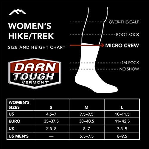 DARN TOUGH (Style 1903) Women's Hiker Hike/Trek Sock - Denim, Medium
