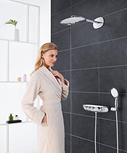 GROHE Duschsystem Unterputz Rainshower Smartcontrol 360 Duo Brausen- und Duschsystem mit Thermostatbatterie auf-/Unterputz Kombination, chrom   26443000 - 3