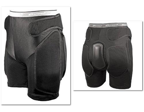 Spokey Snowboard Protektoren Unterhose Snow Protector-Shorts Hüftschutzhosen , Snow Größen:M by Spokey