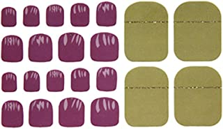 Muranba Toe Nail Sticker Art Stickers Decal Tips Manicure DIY Hot Stamping Nail Foil