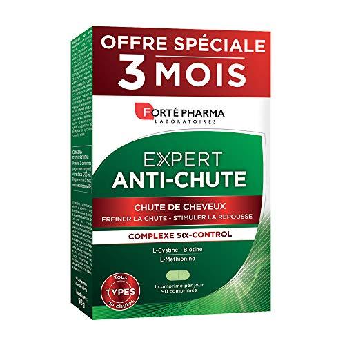 Forté Pharma - Expert Anti-Chute   Complément Alimentaire Cheveux - Chute Hormonale, Héréditaire et liée au Stress   Format 3 mois = 90 comprimés