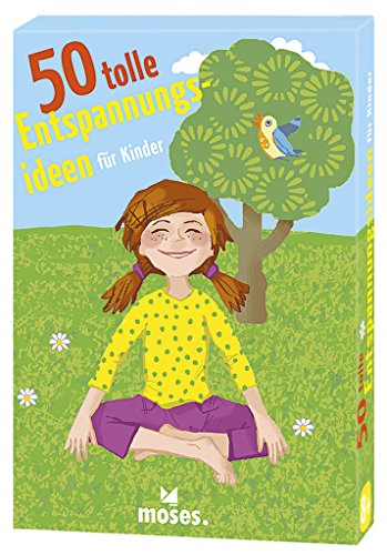 moses. 50 tolle Entspannungsideen für Kinder   Kinderbeschäftigung   Kartenset