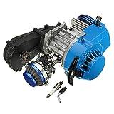 Viviance 49Cc 2 Tiempos Motor Motor W/Carb Filtro De Aire Caja De Engranajes Mini Bicicleta De...