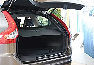ITrims Cargo Security Rear Trunk Cover Retractable for Volvo XC60 2009 2010 2011 2012 2013 2014 2015 Cargo Cover Black