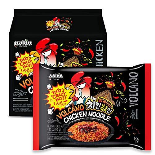 Ramen spicy curry PALDO 4x140g Korea