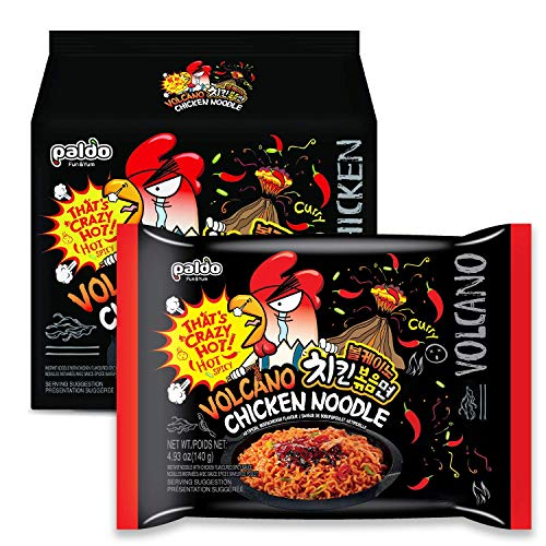 Volcano Spicy Chicken Noodle 4 Pack