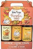Jordans Sugar Free Skinny Syrups 3 Pack: Pumpkin Spice, Pumpkin Caramel, Pumpkin Cheesecake