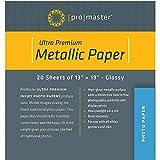 ProMaster Ultra Premium Metallic Paper - 13'x19' - 20 Sheets