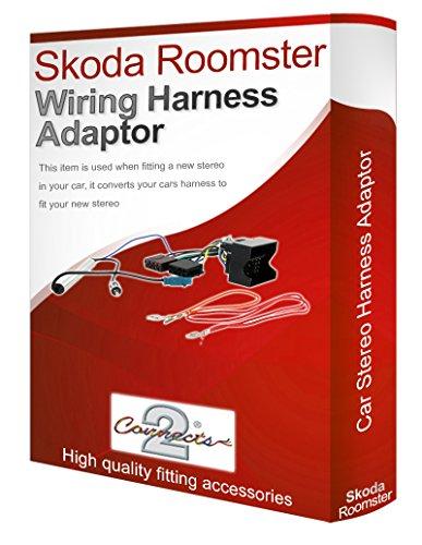 Skoda Roomster CD, radio stéréo Câble adaptateur ISO câble convertisseur-loom
