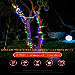 LED Fairy Rope String Lights - Liwiner USB Powered 33FT 100 LED String Light with Remote Timer 8 Mode Dimmable Strip… 12