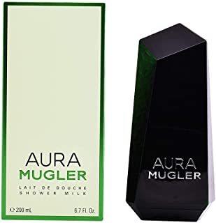 Thierry Mugler Aura Mugler Women Shower Milk, 6.8 ounce