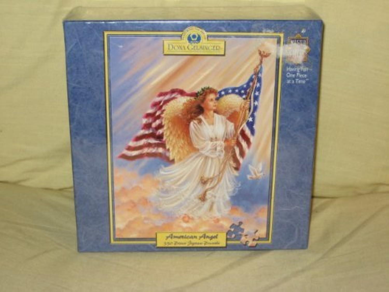 para barato Dona Gelsinger - American American American Angel - 550 Piece Jigsaw Puzzle by MasterPieces  promocionales de incentivo