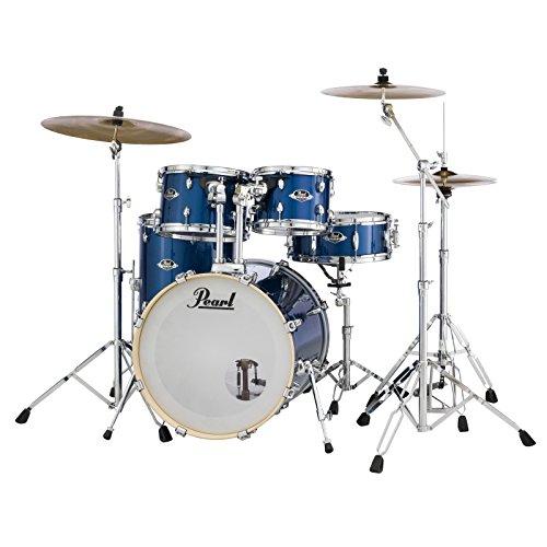 EXX 5-pcs Drum Set 2218B/1208t/1309T/1616F/1455S W/HW & CYMB
