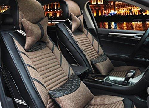 AMYMGLL Coussin de voiture RÉGL.GÉNÉRAUX Linge édition Deluxe (11Réglez) Coussin voiture couverture générale Four Seasons Universal 6 Couleurs Sélectionner , 5
