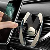 Car Phone Mount, Air Vent Phone Holder for Car, Hands Free Cell Phone Car Mount Compatible iPhone 11 Pro Max XR Xs Max Xs X 8 7 6 Plus, Compatible Samsung Note 10 S20 S10+ S10 LG Google Etc (Gray) -  Thriving Life