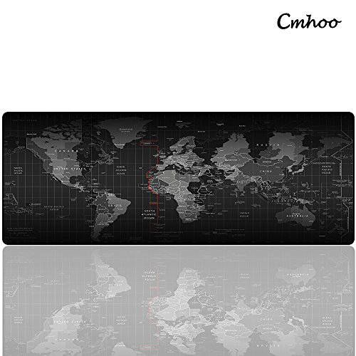 Cmhoo XL Large Mouse Pad & Computer Gaming Mouse Mat Dest Pad (80*30 Map) by Cmhoo