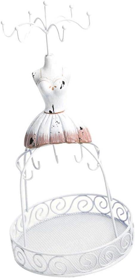 Jewelry Max 68% OFF Organizer Tower Stylish Stand Dress Di Sale item Mannequin