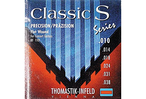 Thomastik 656677 Saiten für Klassik-Gitarre Cassic S Series, Satz KF110 0.010- 0.038