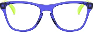 Oakley Unisex-Child OY8009F Frogskins XS Asian Fit Prescription Eyewear Frames, Polished