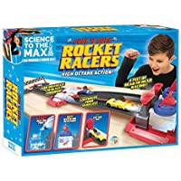 Be Amazing! Toys Science to The Max DIY Rocket Race Car Science Experiment for Kids & Teens