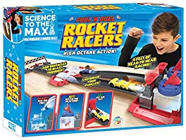 Be Amazing! Toys Science to The Max DIY Rocket Race Car Science Experiment for Kids & Teens - STEM Chemistry Kit for...