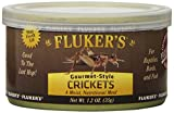 Your pet receives all of the convenience of a nice, moist meal without the inconvenience of managing live food Reclosable 1.2oz. Jar Choice of Crickets, Mealworms, Shrimp and Grasshoppers Your pet receives all of the convenience of a nice, moist meal...