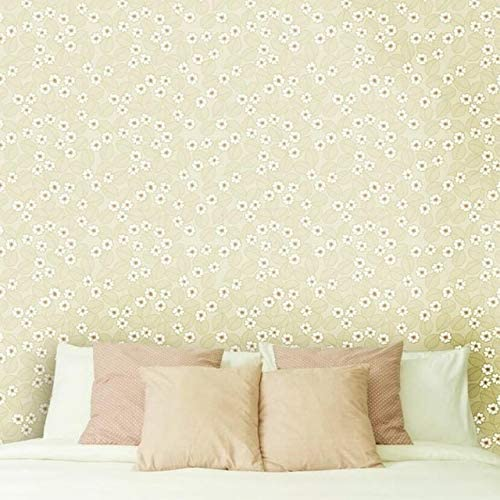 Modern 5 ☆ very Free Shipping New popular Minimalist Embossed Wallpaper Roll Lovely Small Wa Floral