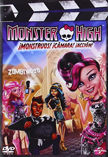 Monster High: ¡Monstruos! ¡Cámara! ¡Acción! [DVD]