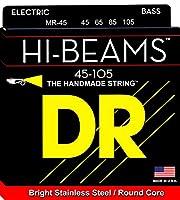 DR ベース弦 HI-BEAM ステンレス .045-.105 MR-45