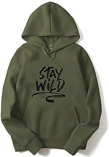 ADRO Men's Cotton Hooded Sweatshirt