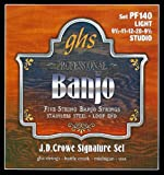 GHS Strings J.D. Crowe Signature Banjo Set (Studio Stainless Steel)